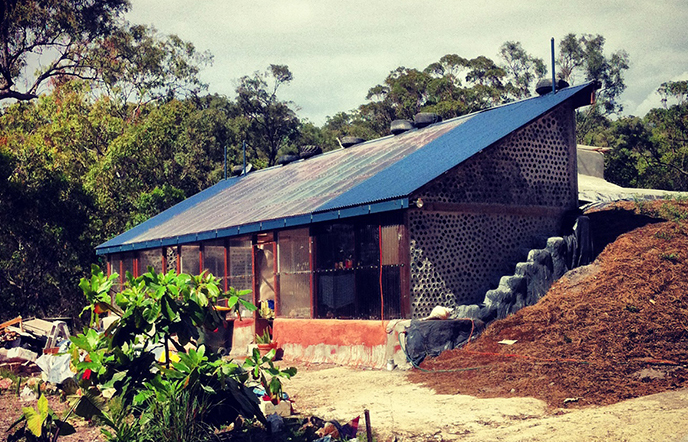 Earthships land in northern NSW