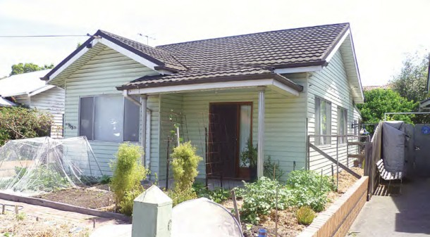 Tamara and Aiden want to renovate their existing north Melbourne weatherboard family home, retaining the front garden for a productive vegetable garden.