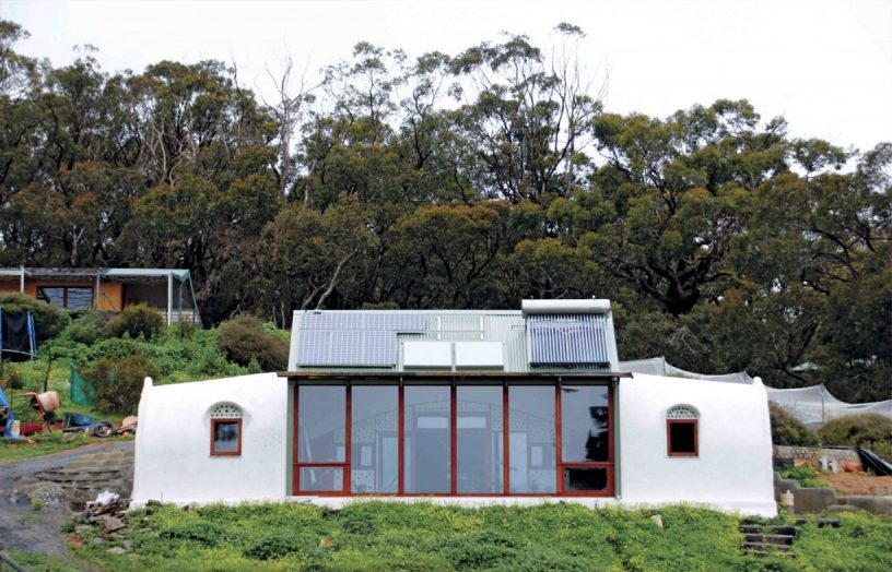 From earth, cans and tyres: Earthship Ironbark