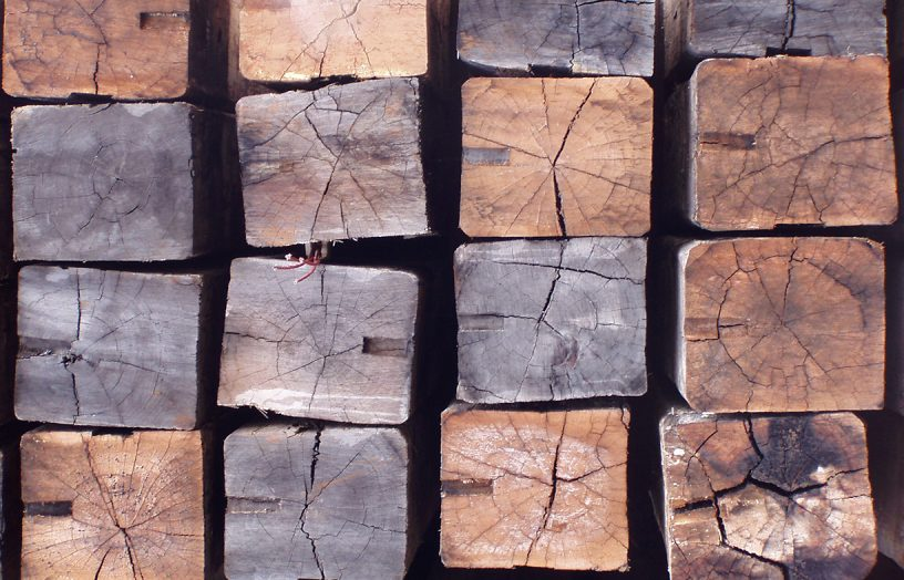 Recycled timber: material that tells a story