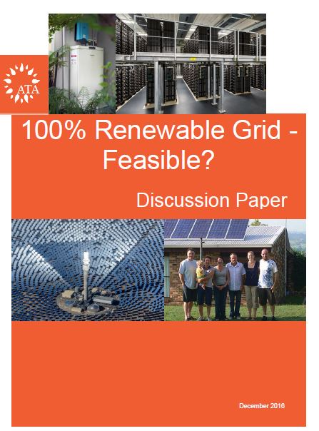 100 per cent renewable grid