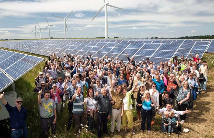 Community energy steps up: decarbonising at the local level