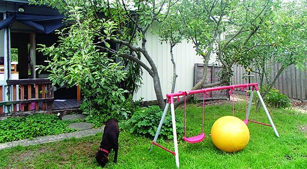 Where possible, they want to retain or build around any existing mature fruit trees, which are located at the rear of the existing deck and laundry.