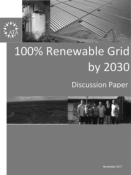 Report: 100% Renewable Grid by 2030