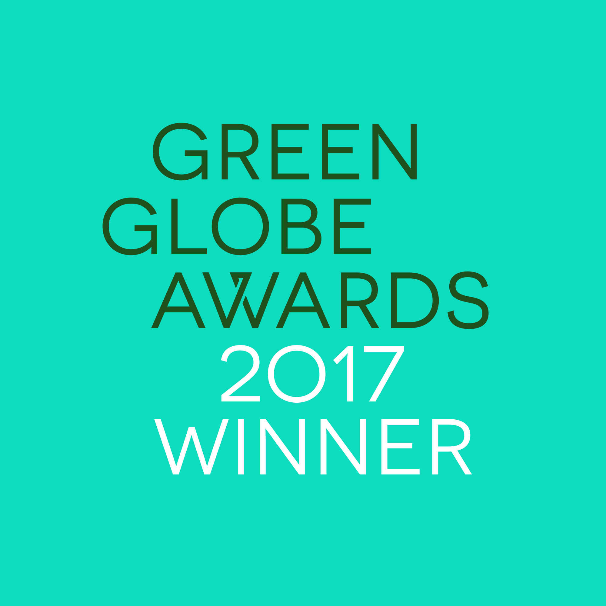 Green Glob Awards 2017 Winner