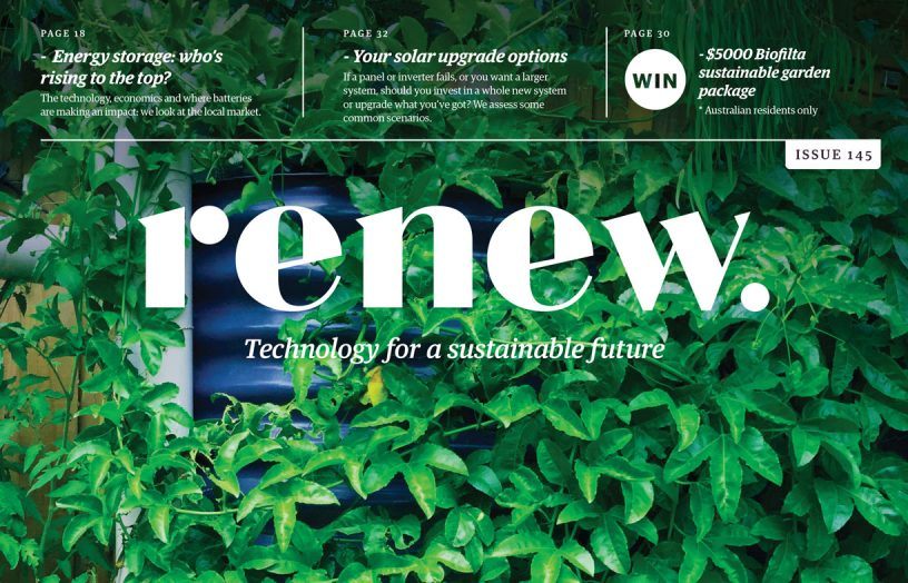 Renew 145 out now – check out our new look!