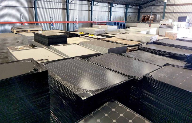 PV recycling – Where do all the panels go?