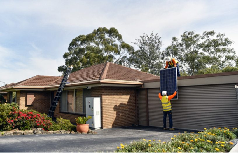 Neighbourly sharing: mini-grid in Mooroolbark