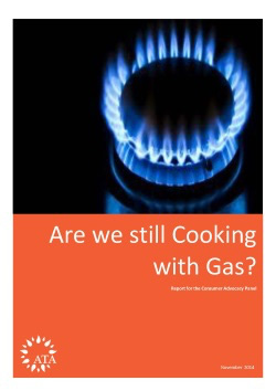 Are We Still Cooking with Gas report