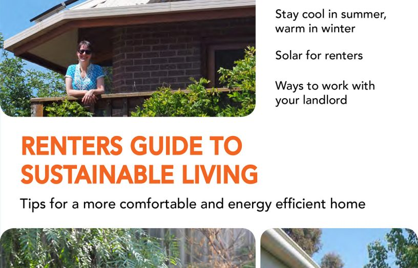 Renters Guide to Sustainable Living