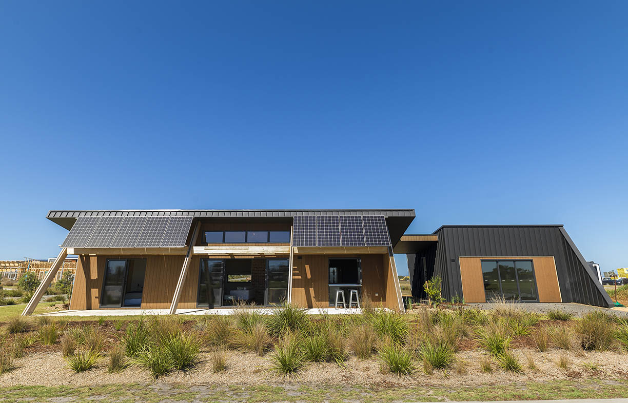 Beaumont Concepts' award winning C0RE 9 house at The Cape development in Cape Paterson, Victoria, will be opening its doors along with the rest of its street on Sustainable House Day. C0RE stands for Carbon Positive, Zero Waste, Recyclability and Economics and represents a dual commitment to affordability and sustainability.