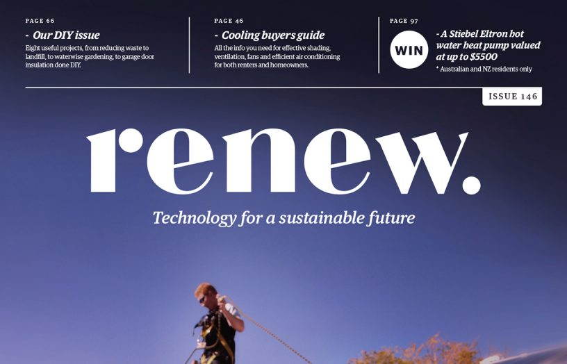 Renew 146: Cooling guide, DIY special