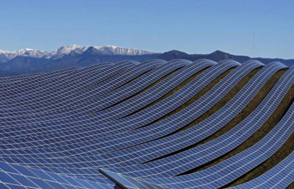 Large-scale solar farms coming online