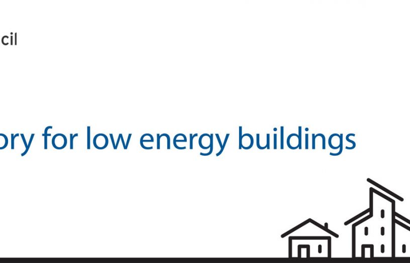 Trajectory for Low Energy Buildings