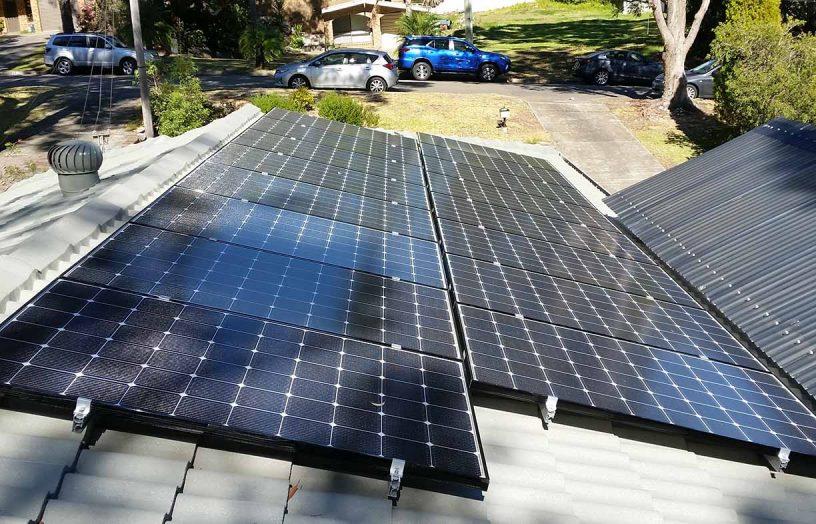 Solar on a shady roof