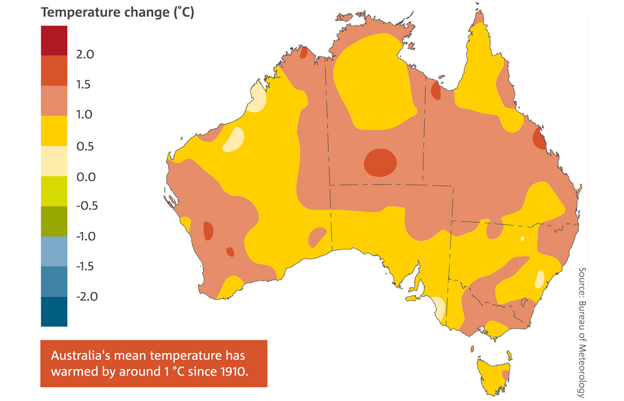 Australia Map Climate.Warming Of 1 5 Degrees What We Do Now Matters More Than Ever Renew