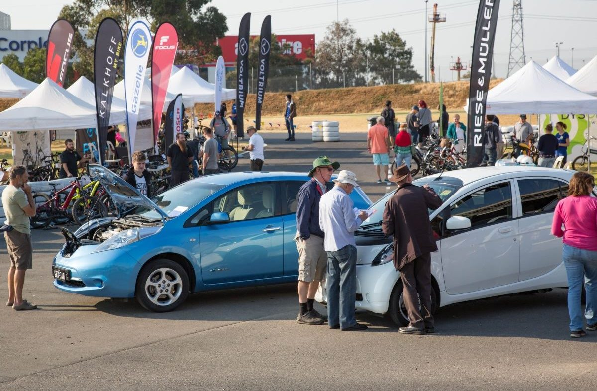 The Expo provided plenty of opportunities to chat with a range of EV owners.