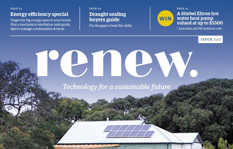 Renew mag: energy efficiency special