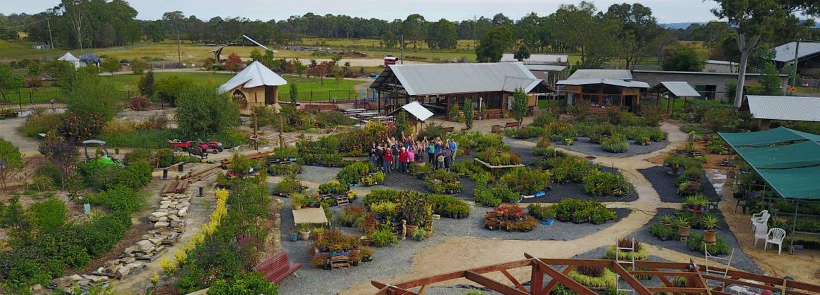 Visit to NWDS Secret Garden
