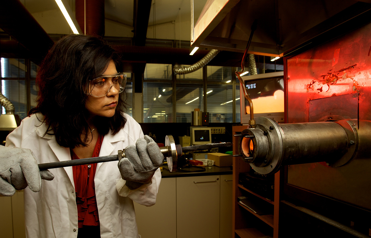 Professor Veena Sahajwalla, School of Materials Science and Engineering, Faculty of Science, UNSW