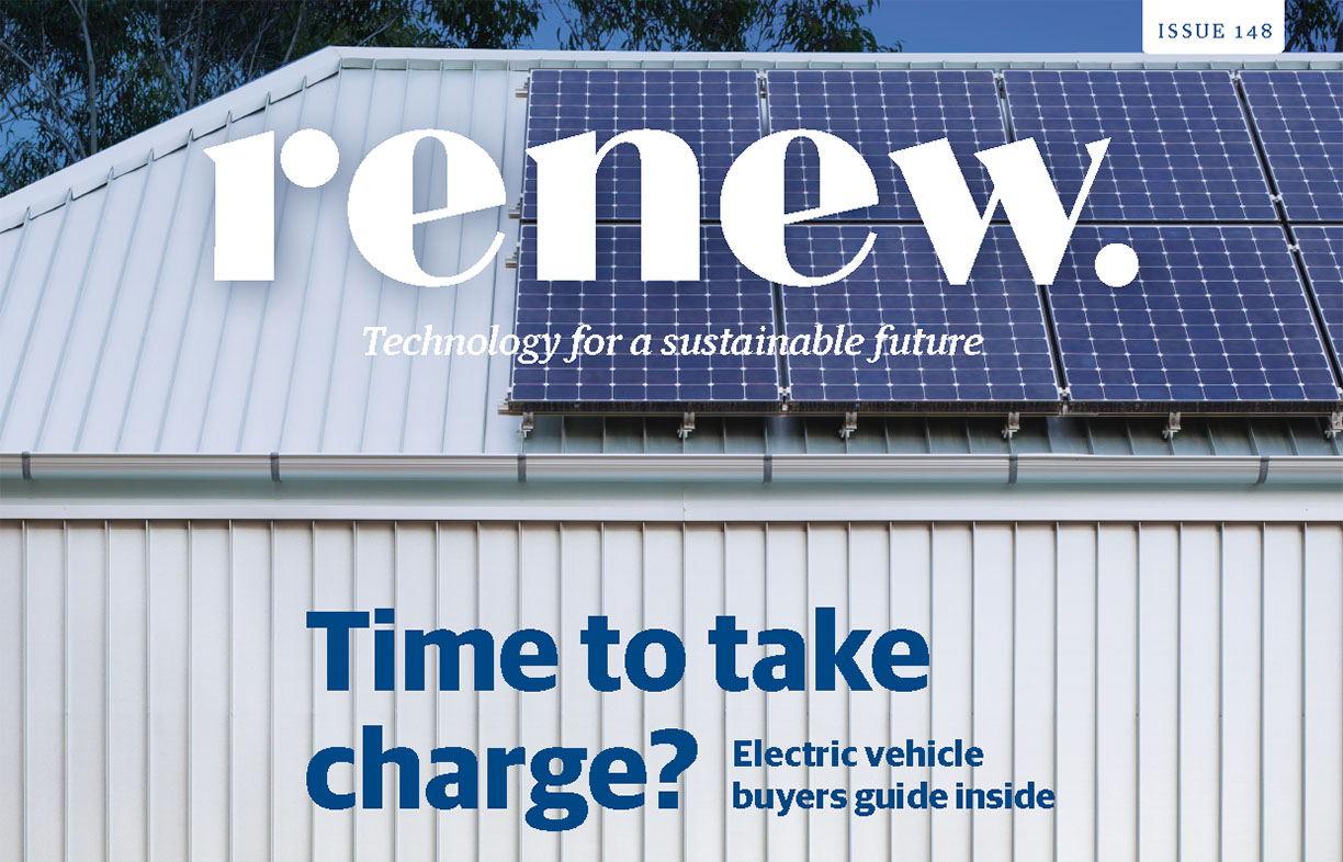 Renew mag: electric vehicle special