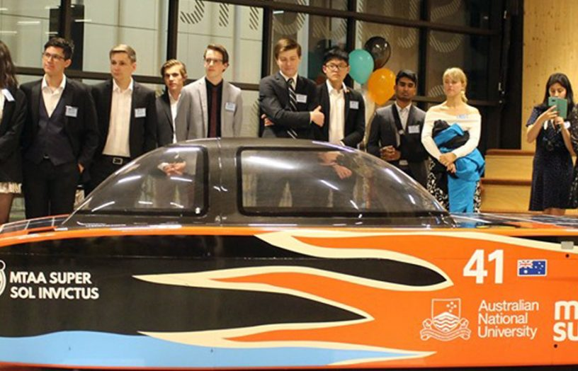 The World Solar Challenge – Building a solar race car