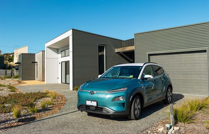 Offsetting EV energy at home
