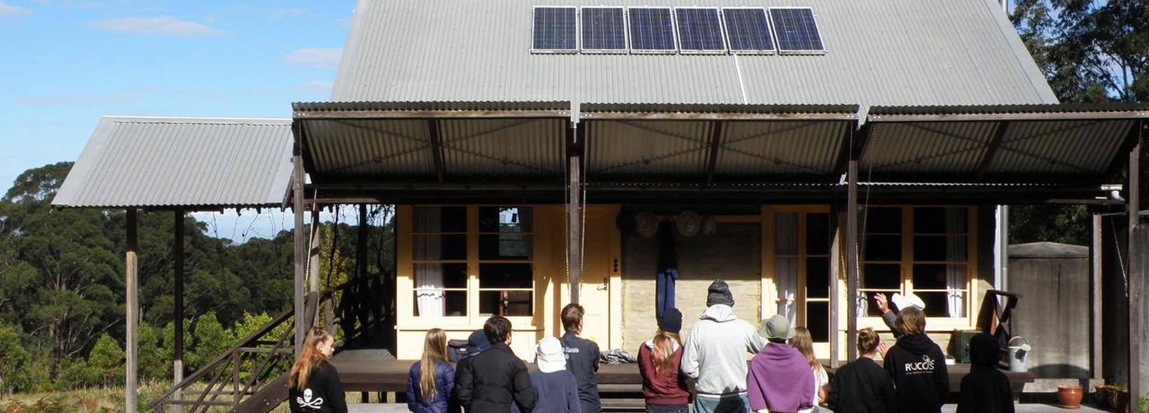 Visit to Callicoma Hill Eco-cabins