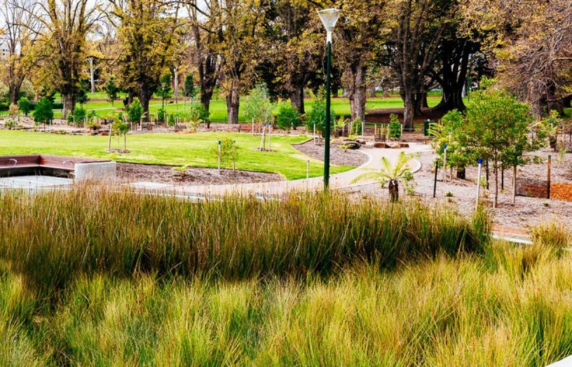 Stormwater reuse for parks and whole cities