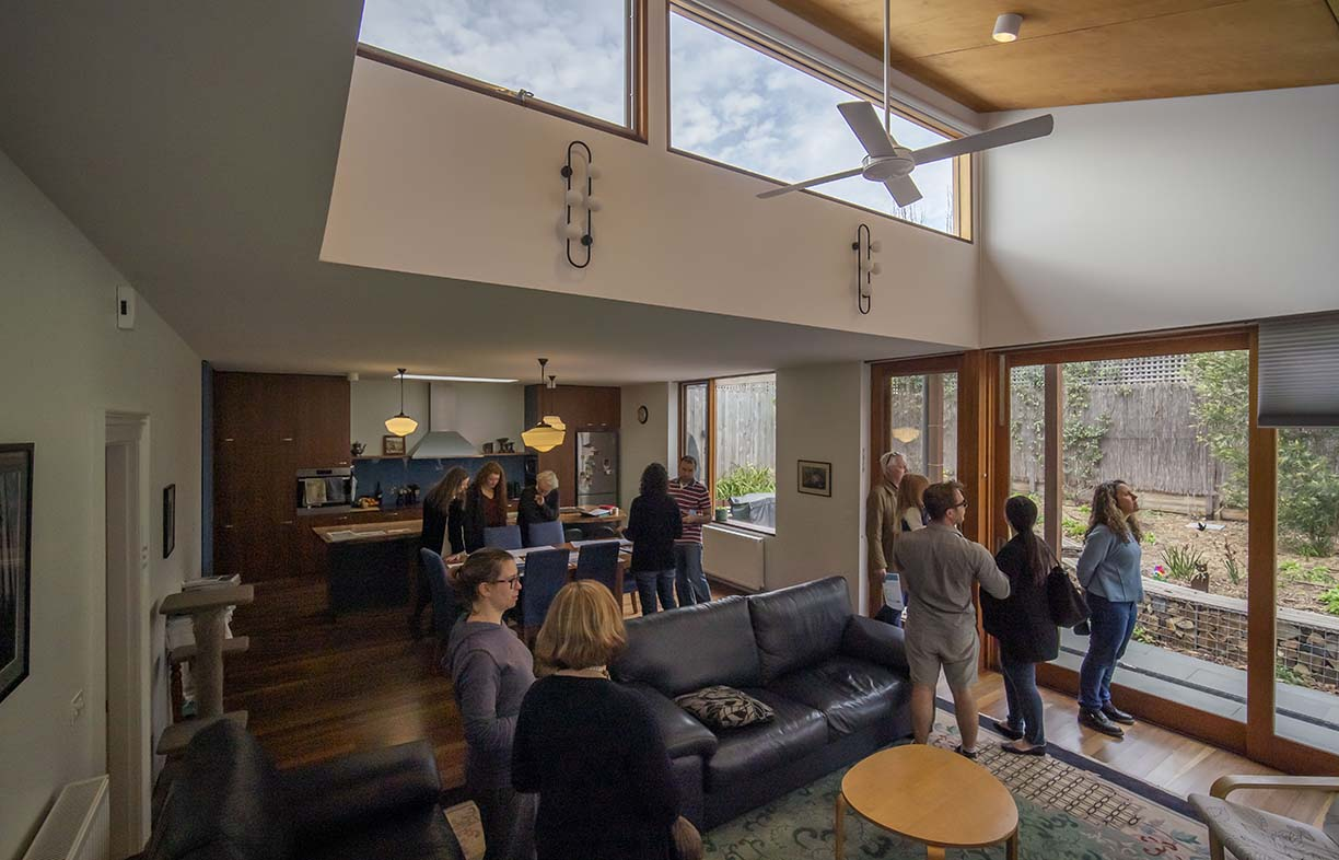 Scenes from Sustainable House Day 2019