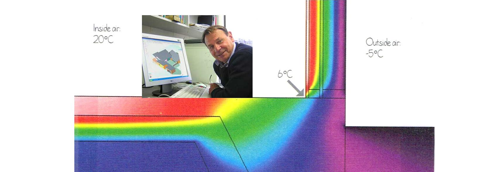 Air tightness and thermal bridging in buildings