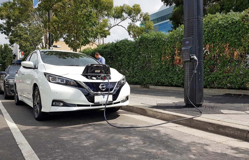 EV charging hits the streets