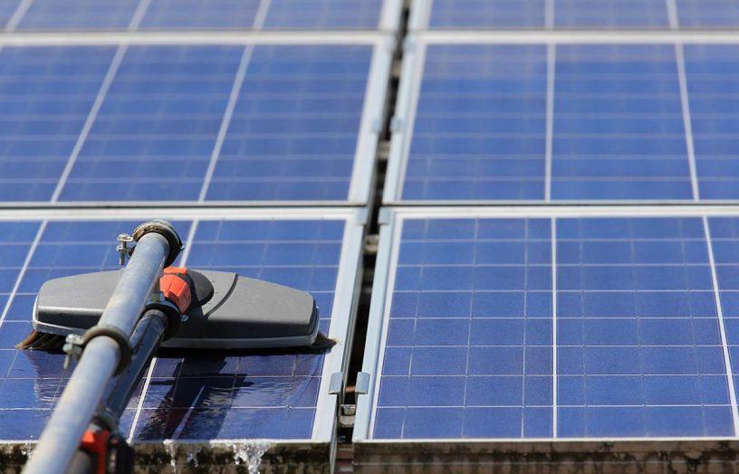 Solar spring clean