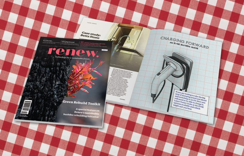 Renew 156 out now: Green Rebuild Toolkit, bike-sharing schemes, EVSE buyers guide and more!