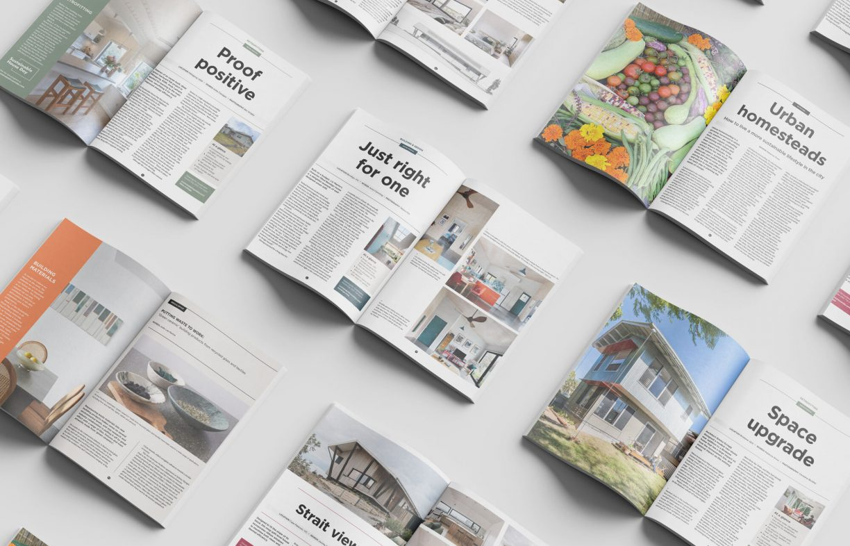Sanctuary 56 out now: Sustainable House Day special